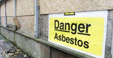 asbesto en paredes