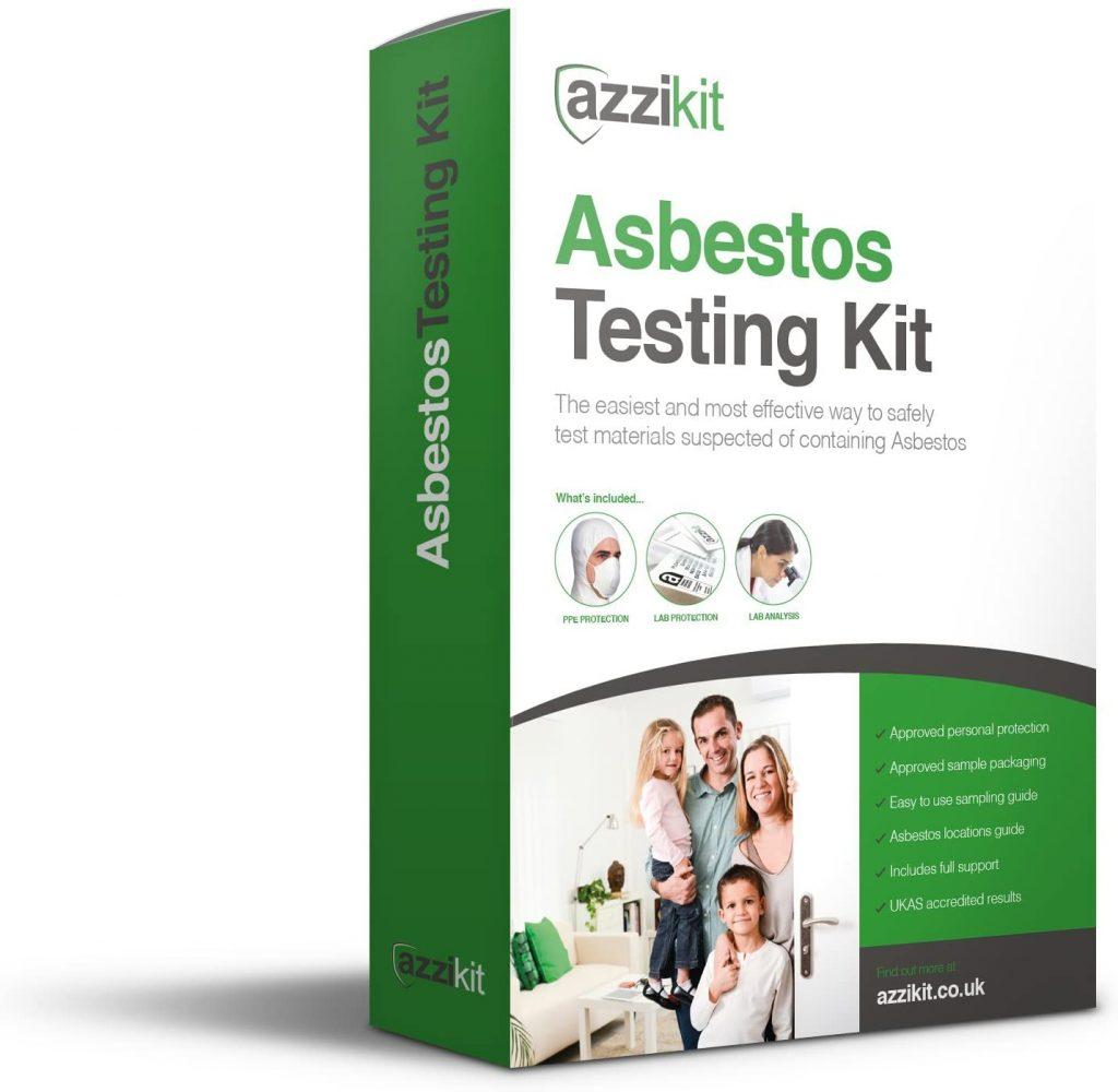 kit de prueba de asbesto