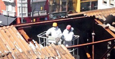 Asbestosis fuentes y factores laborales de riesgo