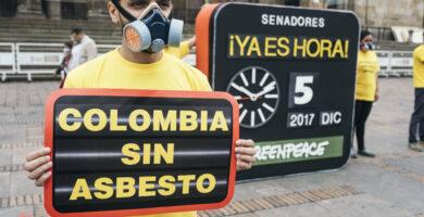 asbestosis en colombia